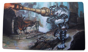 Scorched Earth Playmat