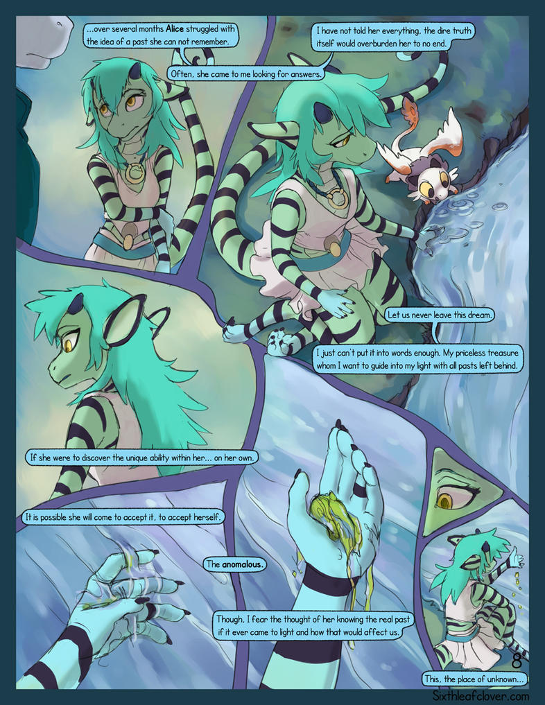 Asteria Six: Page 8. The Place Of Unknown. by The-SixthLeafClover