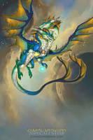 2019 Zodiac Dragon Gemini by The-SixthLeafClover