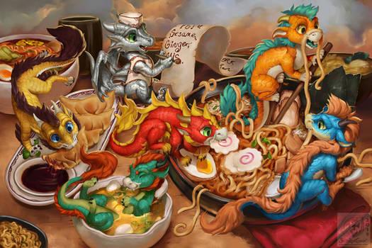 The Noodle Dragons Bowl