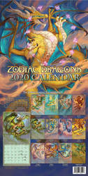 2020 Zodiac Dragons Calendar - Pre-Order by The-SixthLeafClover