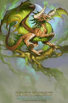 2020 Zodiac Dragons Calendar Taurus