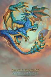 2020 Zodiac Dragons Calendar Scorpio by The-SixthLeafClover