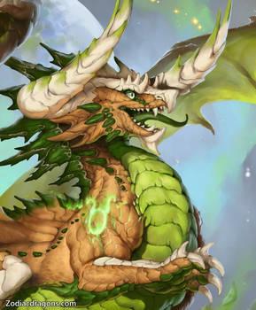 Taurus Dragon - Close Up