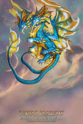 2020 Zodiac Dragons Gemini by The-SixthLeafClover