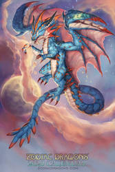 2020 Zodiac Dragons Cancer by The-SixthLeafClover