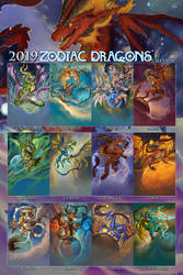 2019 Zodiac Dragons Series