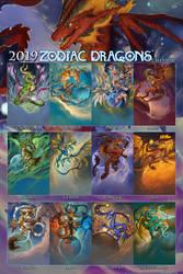 2019 Zodiac Dragons Series