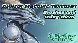 Tutorial - Digital Metallic Texture - Brushes