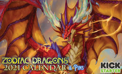 The 2021 Zodiac Dragons Kickstarter is now LIVE