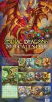 2021 Zodiac Dragons Calendar by The-SixthLeafClover