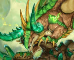 2021 Zodiac Dragon Taurus - Emerald