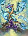 2021 Aquarius Dragon by The-SixthLeafClover