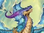 Aquarius Water Dragon Close Up
