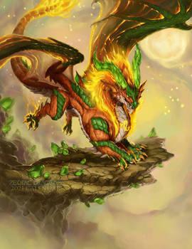 2021 Zodiac Dragon Leo