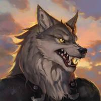 Cray Werewolf Portrait