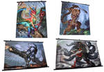Wall Scrolls and more Sale! by The-SixthLeafClover