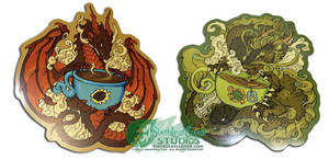 Coffee and Tea Dragons are back!