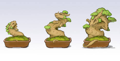 Grow a Bonsai Dragon