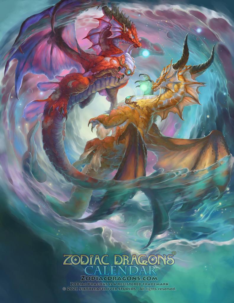 2022 Zodiac Dragons Pisces