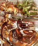 Dessert cake dragon Whelps
