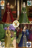 Hogwarts Tudor Style by L-U-C-K-Y-Diamond