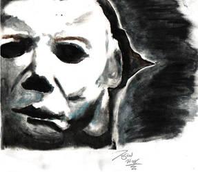 Michael Myers Halloween Pastel