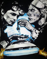 Back to the Future Tribute by xxdelorean99xx