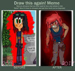 Draw This Again Meme {Obsidian Roze} by SamIamLuvDov