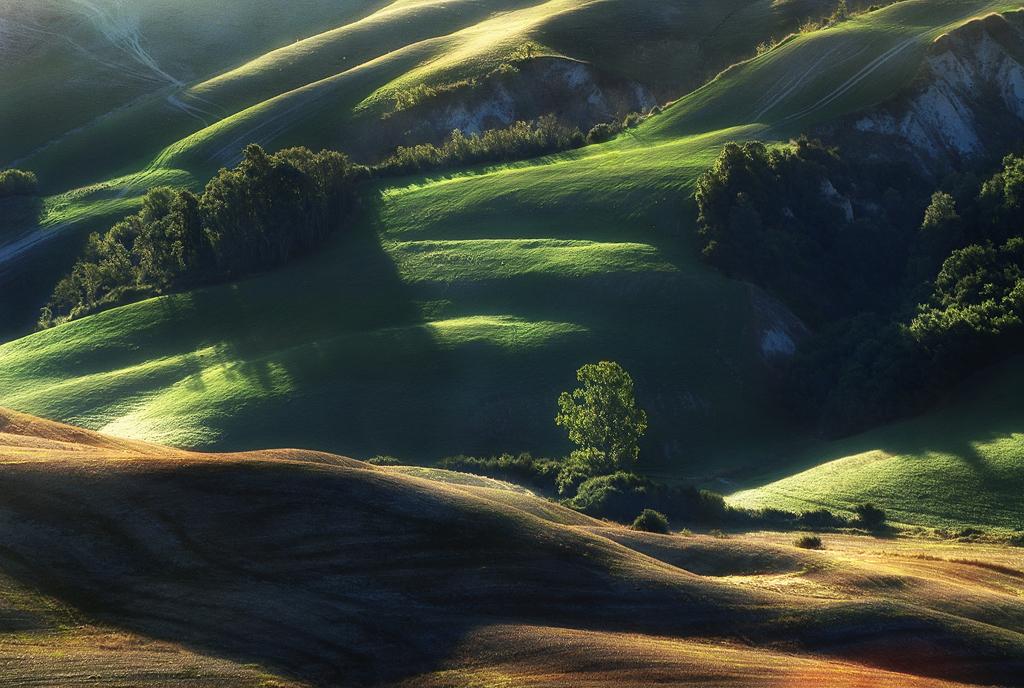 Morning Tuscany Sun by JPawlak