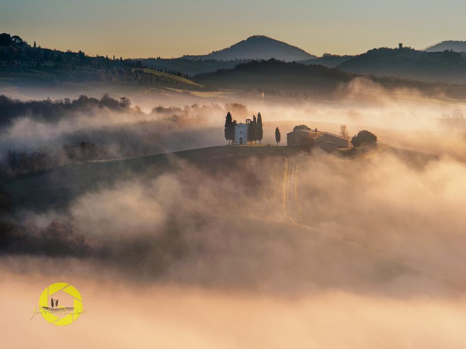 La Capella di Vitaleta/Tuscany by JPawlak