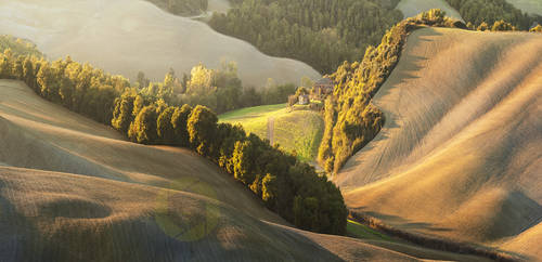 Squiggly fields/ Crete Senesi, Tuscany  30/10/2014