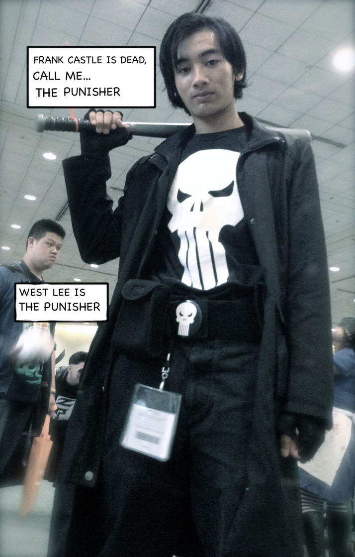 Punisher Cosplay by stormx6
