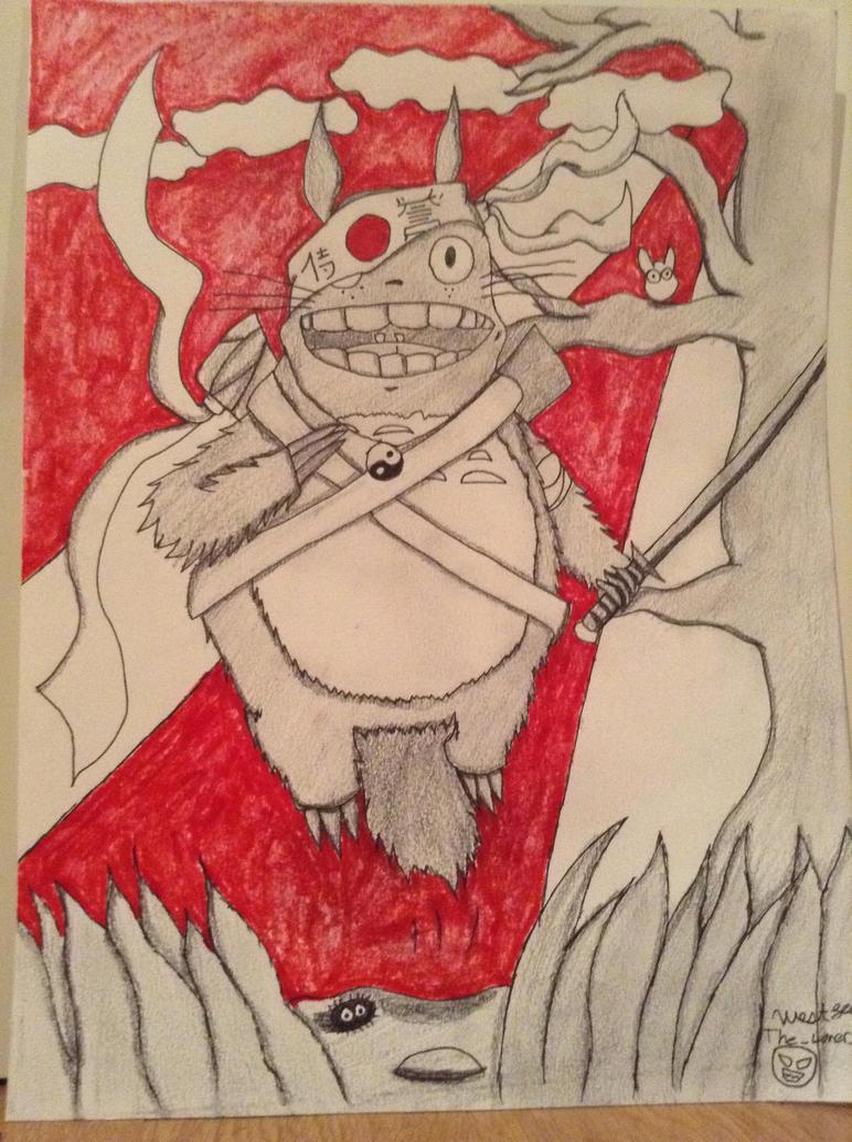Samurai Totoro! by stormx6