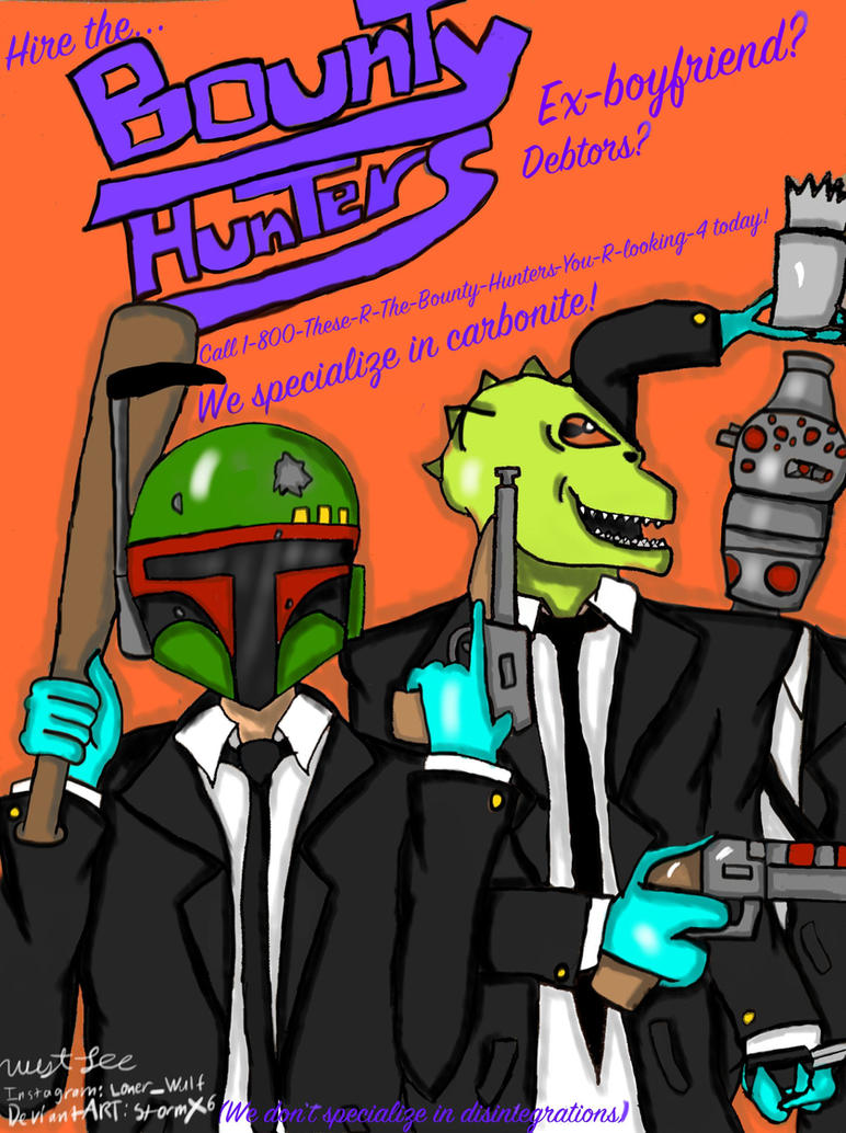 Bounty Hunter Service by stormx6