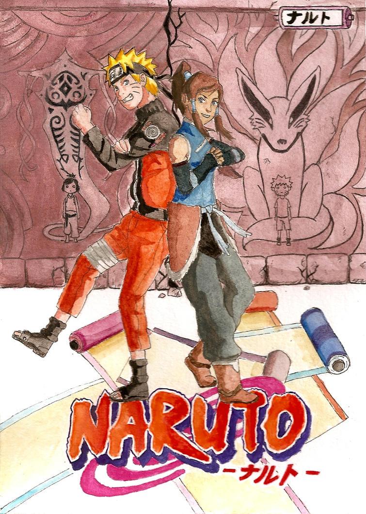 CM: Naruto and Korra by PumyteH