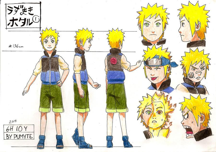 Naruto Character Design Sheet : Uzumaki hotaru character sheet by pumyteh on deviantart