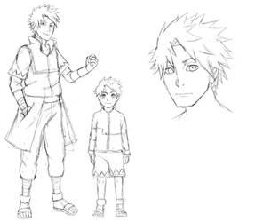 CM: Miyuki x  Kakashi offspring by PumiiH