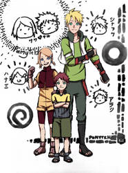 Sunshine Family by PumiiH