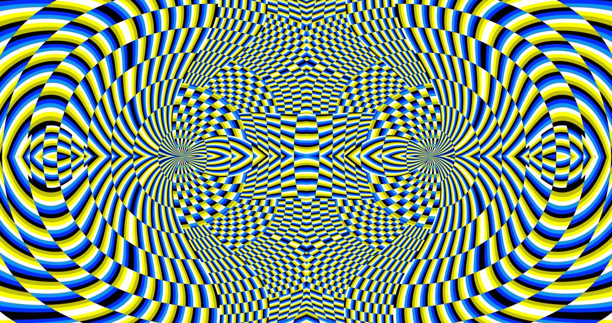 illusion optical fractal illusions fractals deviantart
