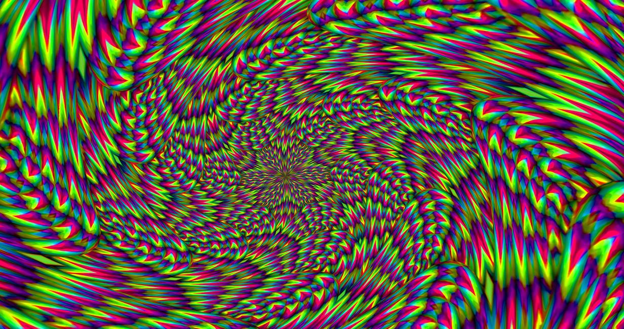 illusion optical fractal deviantart deviant