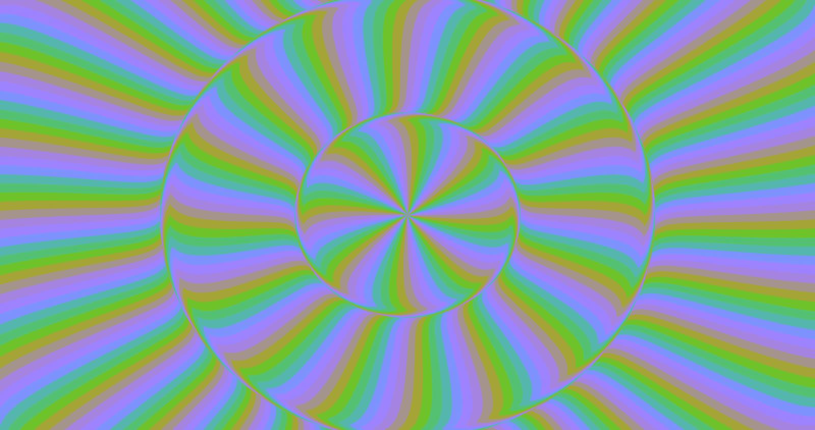 Rotation - Optical illusion by H-Flaieh