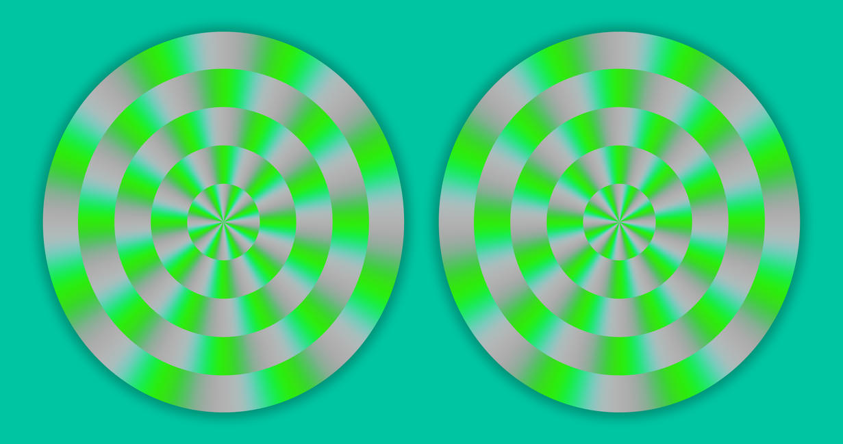Rotation - Color Illusion - Optical Illusion by H-Flaieh