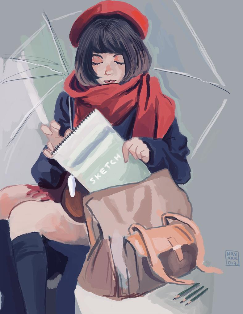rain by hujunisei