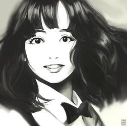 mariya takeuchi study by hujunisei