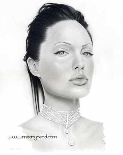 Angelina Jolie by little-faerie-bits