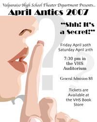 April Antics 2007 Poster