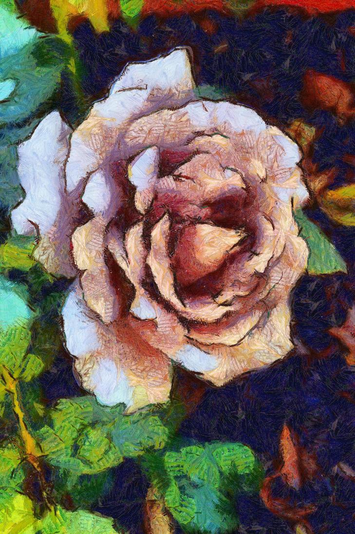 Rose DAP Vangogh1 by Old-Catdude