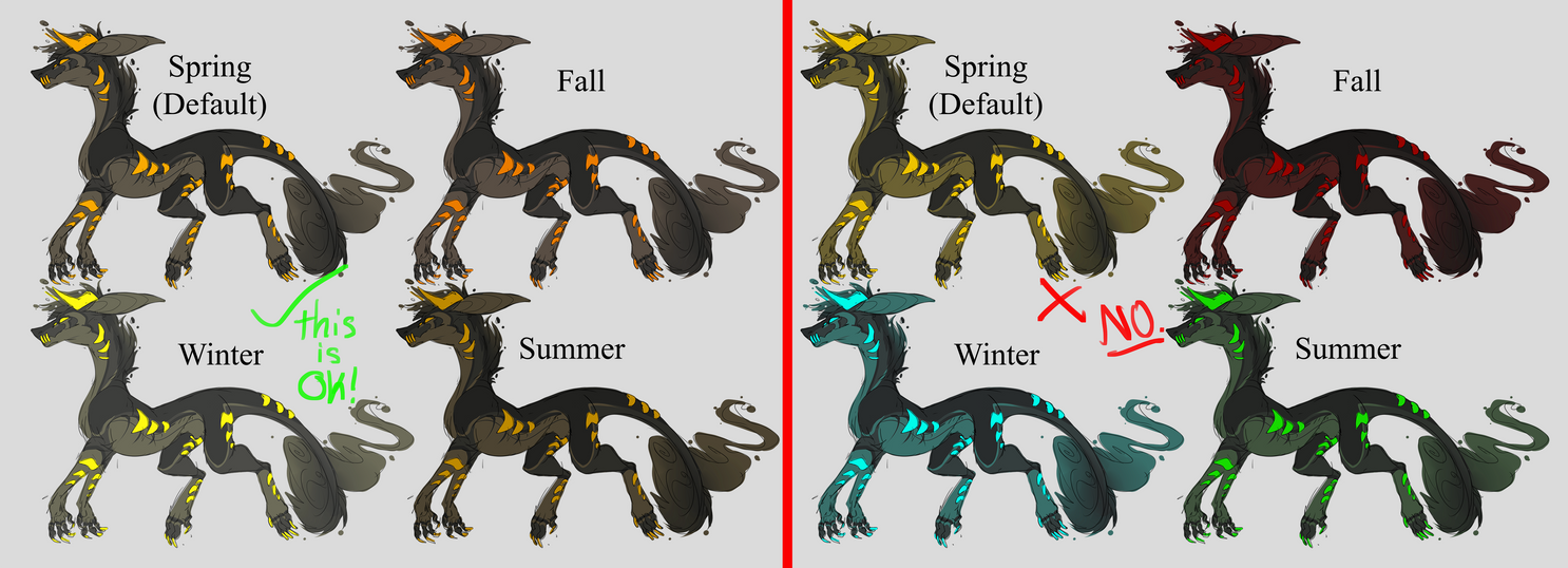 Seasonal Nail Art Designs