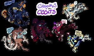 {ADOPT} Crooks n CCCats [CLOSED]